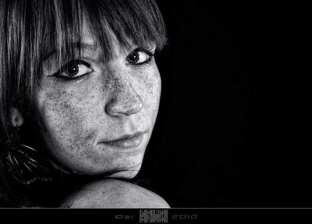 ... freckled ...
