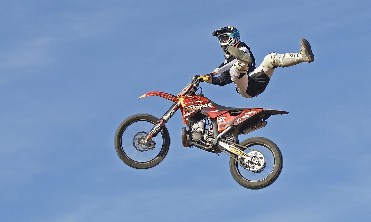 Freestyle moto cross