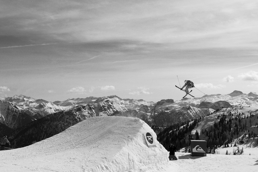 Freestyle Ski in Flachauwinkel