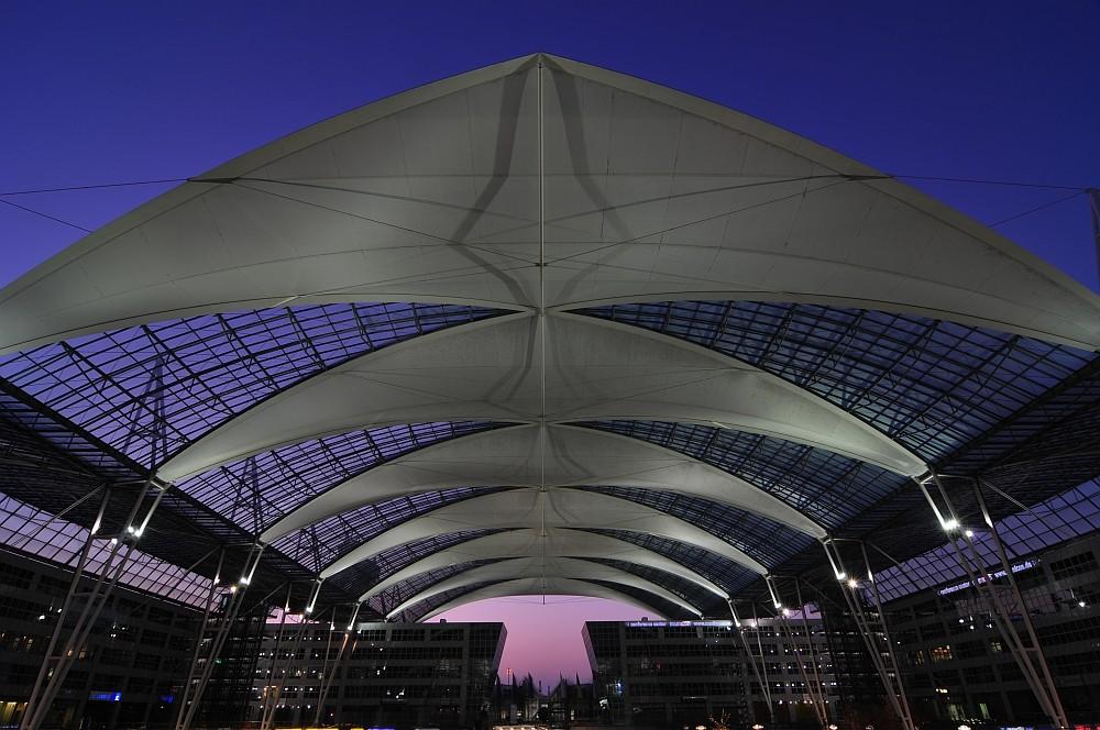 Freezing Munich Airport