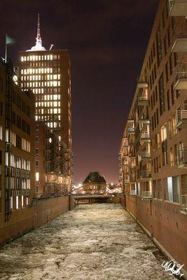 Freezing Speicherstadt