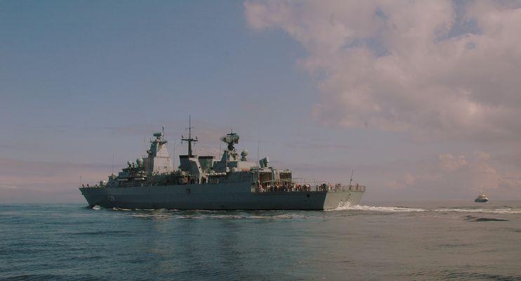 Fregatte FGS F 218 Mecklenburg Vorpommern