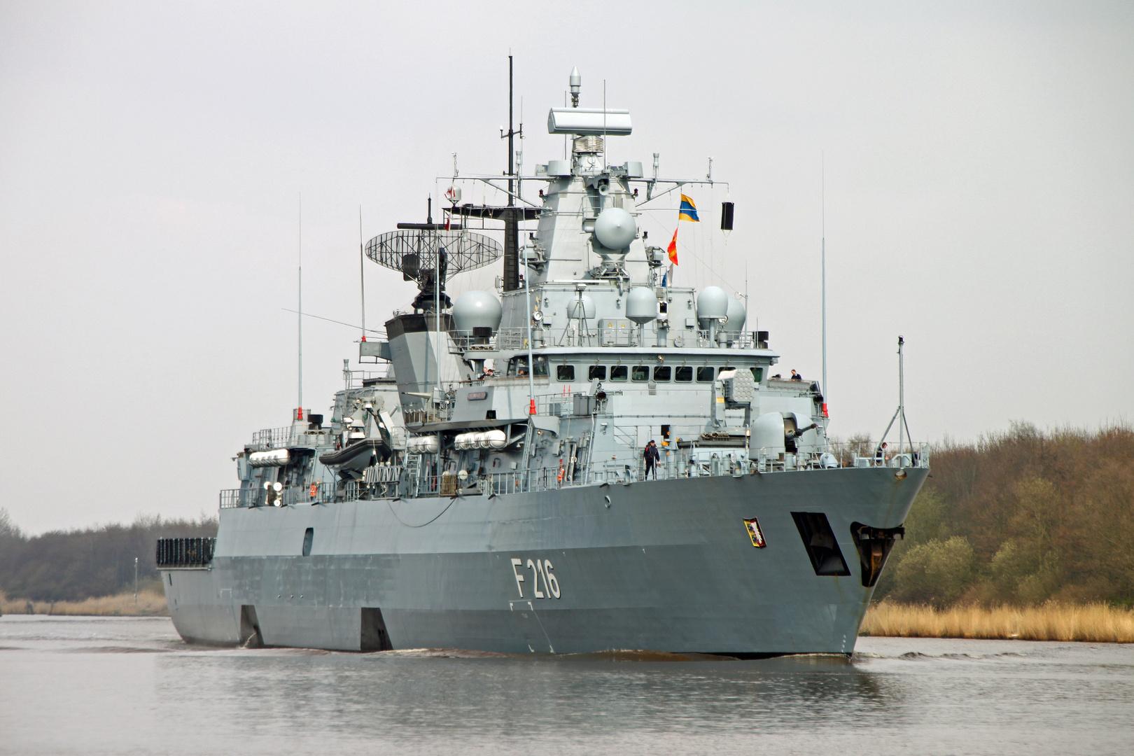 Fregatte Schleswig-Holstein