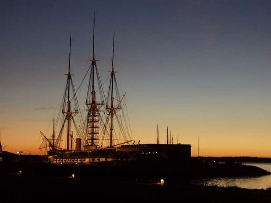 Fregatten Jylland in Dänemark