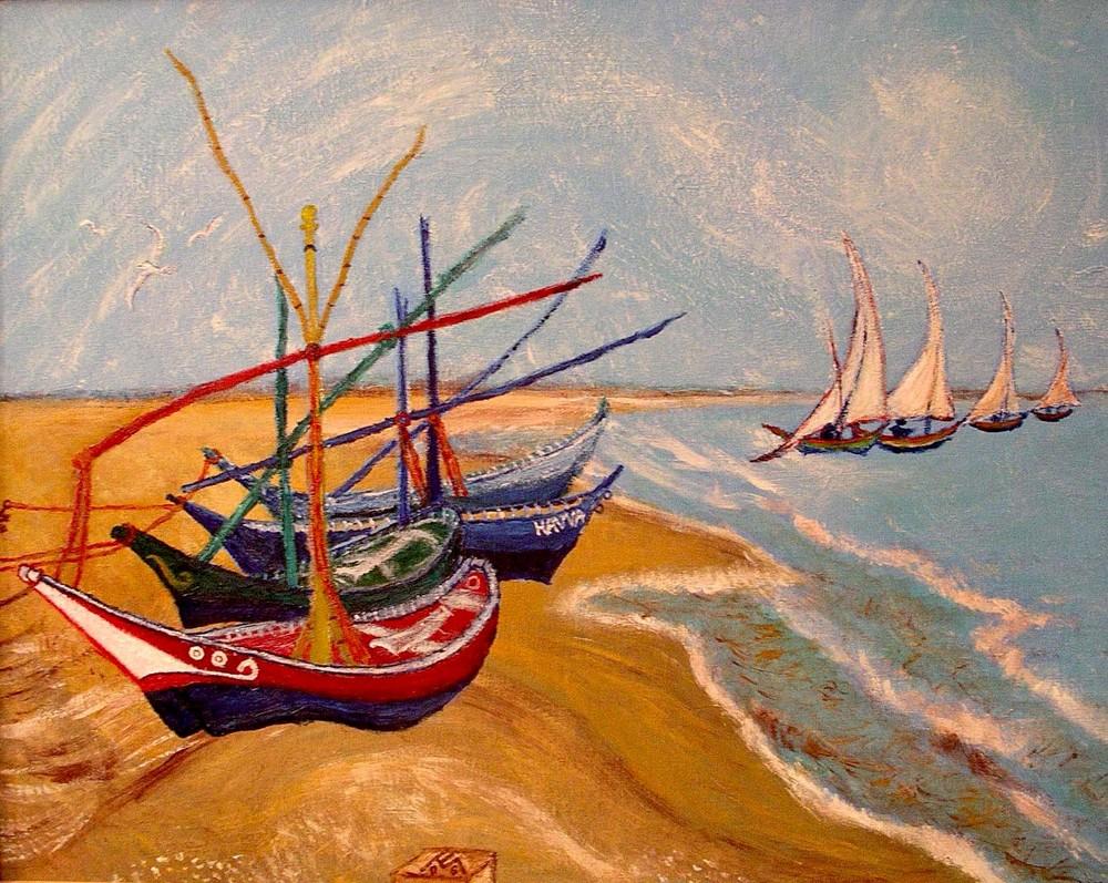 frei nach Vincent Van Gogh