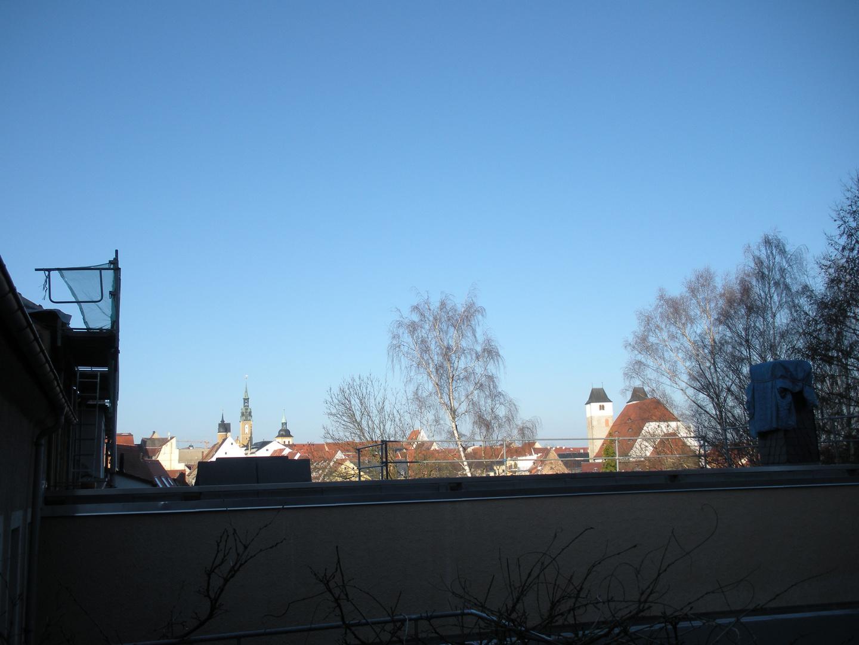 Freiberg morgens