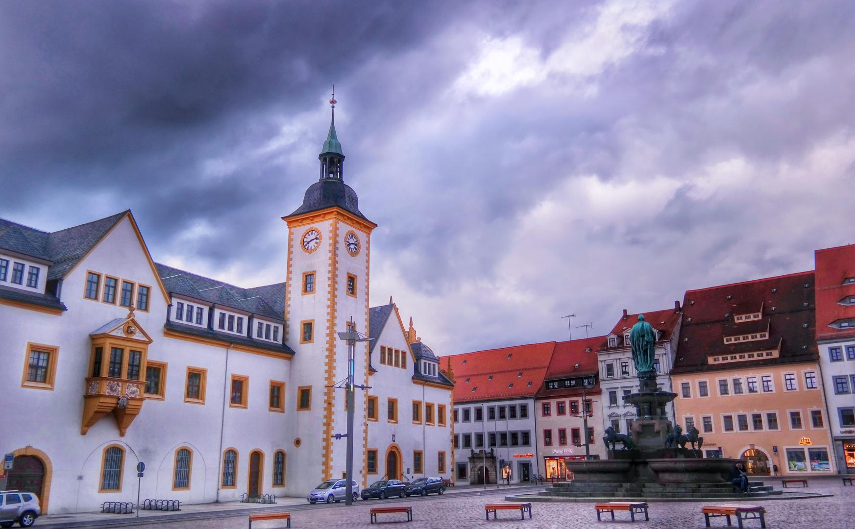 Freiberger Rathaus