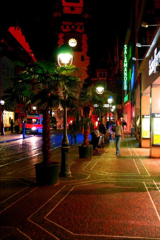 Freiburg bei Nacht IIII