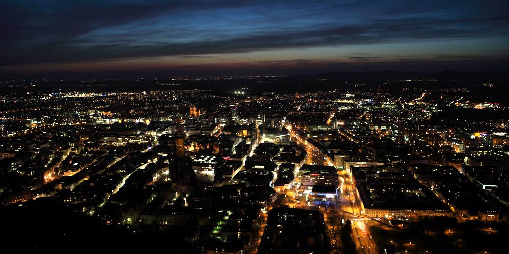 Freiburg by Twilight II