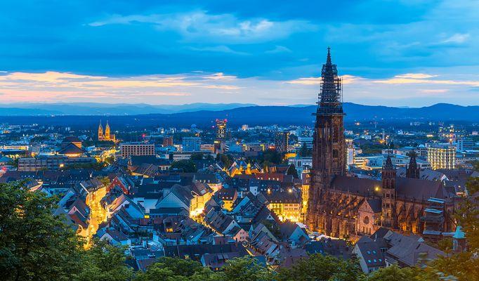 Freiburg im Breisgau - Altstadt und Münster