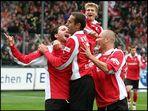 Freiburg jubelt zum 2:0