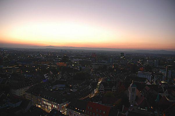 Freiburger Abendstimmung