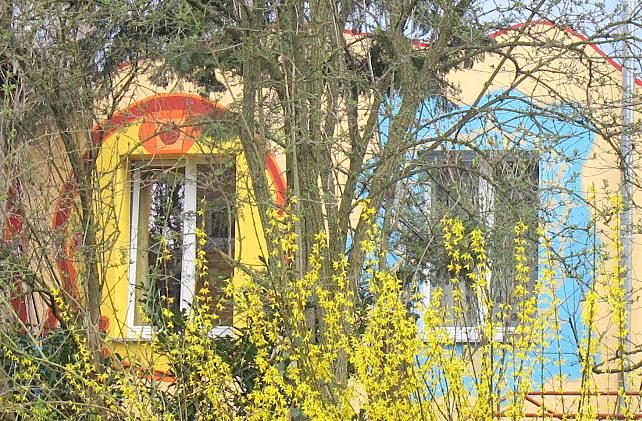 Freiburgs 1.Frühlingstag 13.4.13 im Quartier Vauban