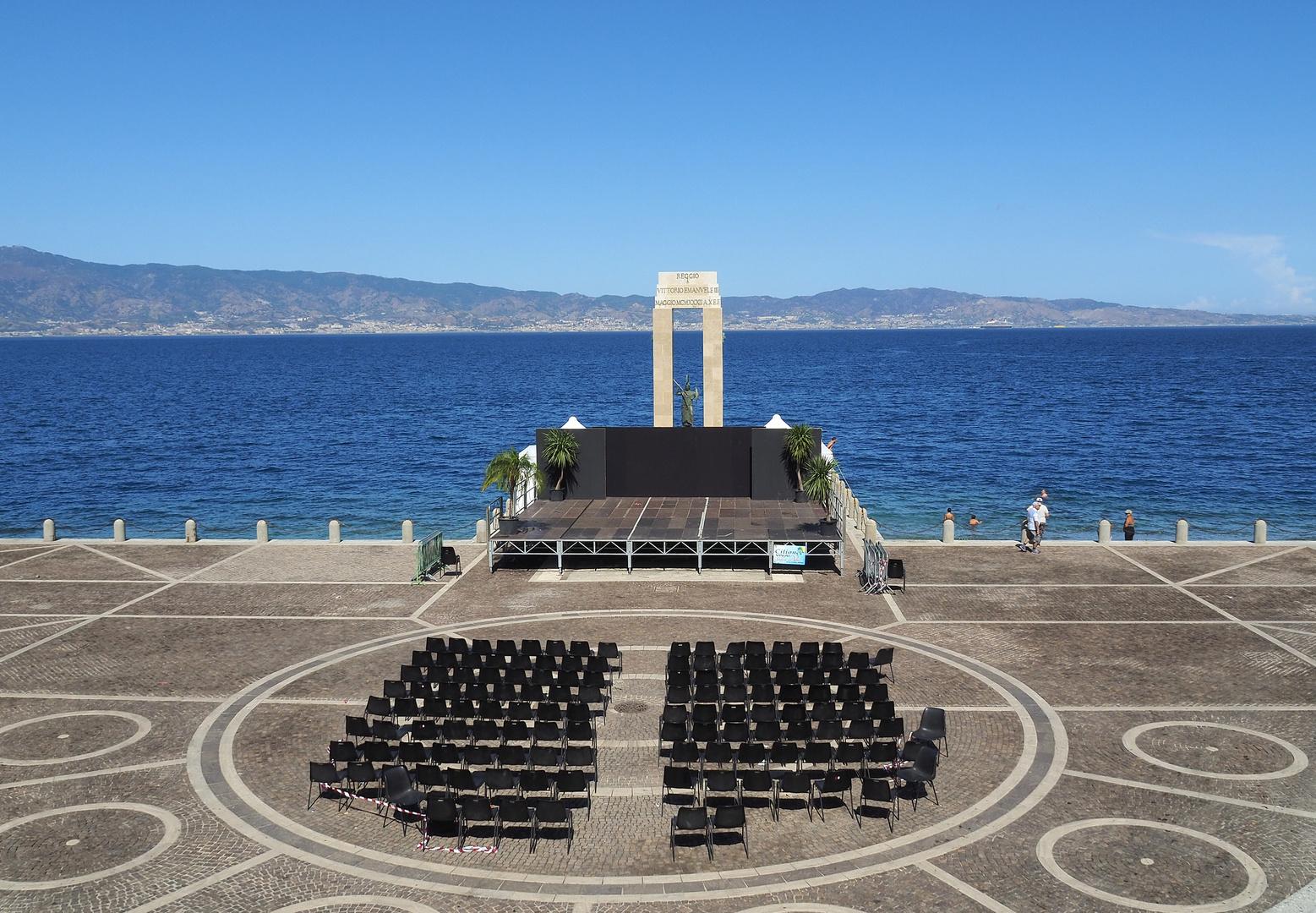 Freie Bühne in Reggio Calabria