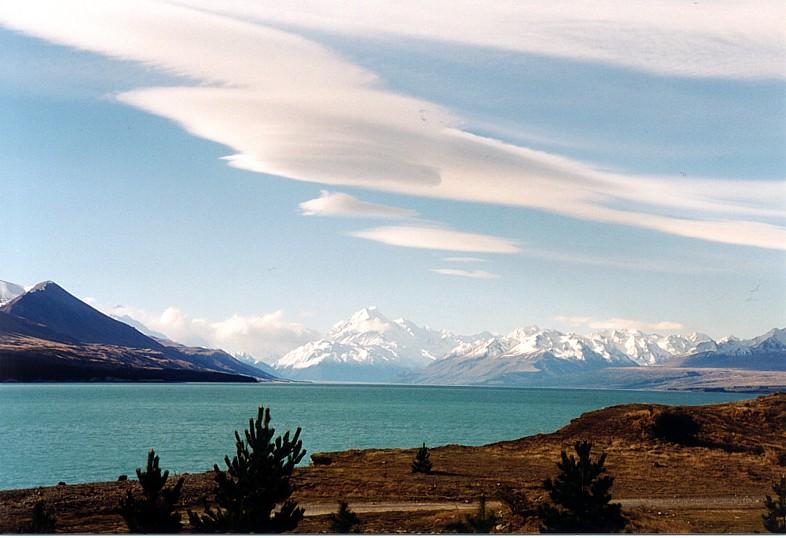 Freier Blick zum Mount Cook