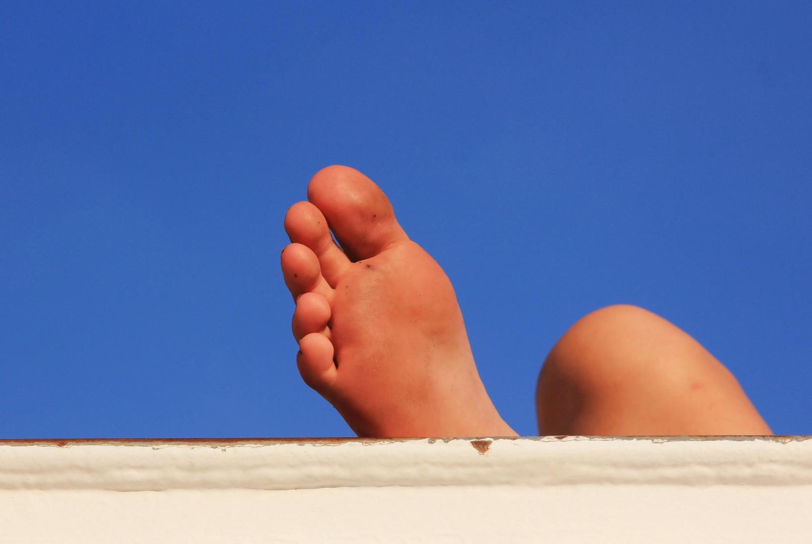 Freiheit für die Füße