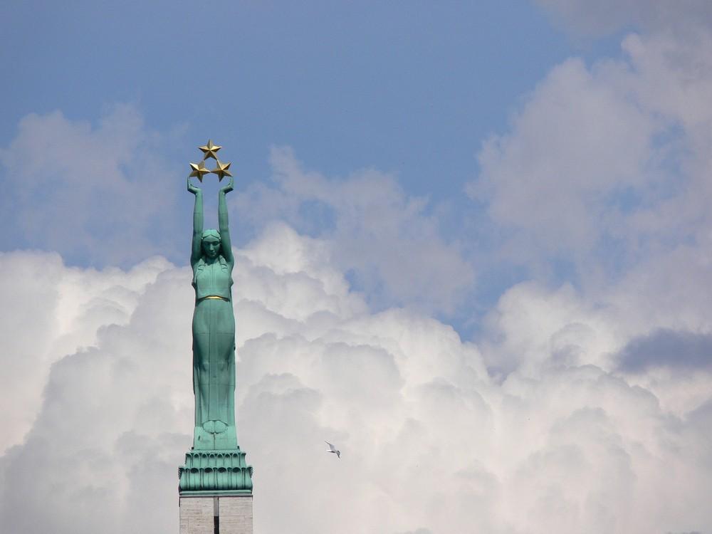 Freiheit für Lettland