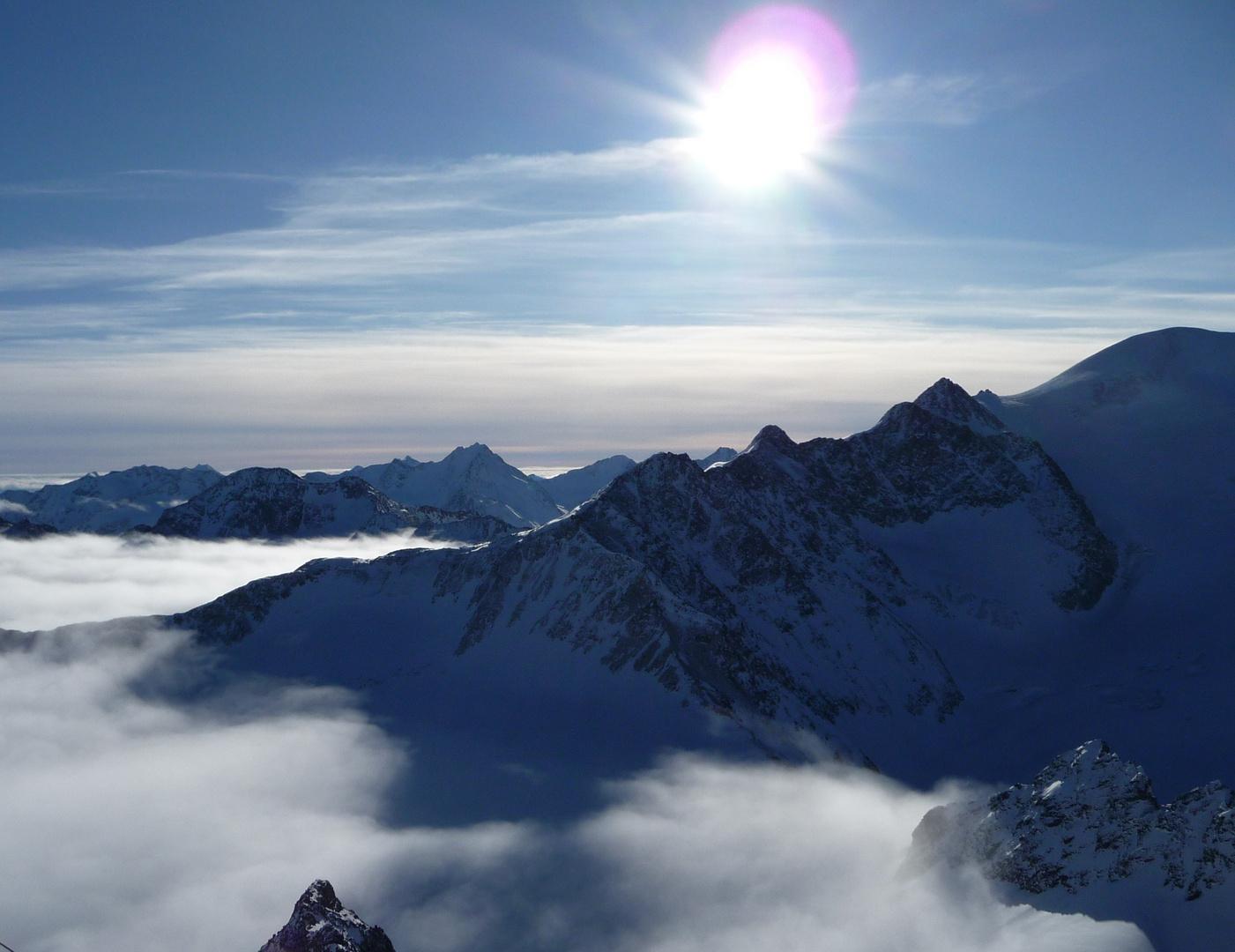 Freiheit über den Gipfeln
