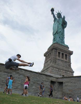 Freiheitsstaue, NYC