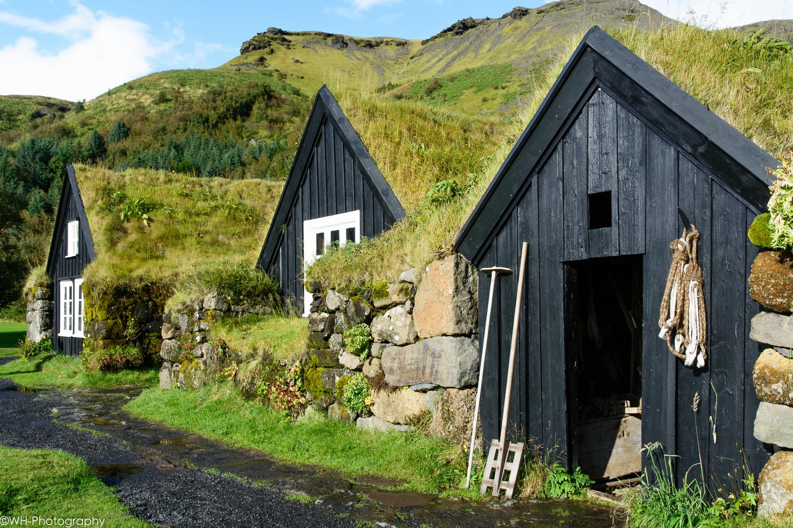 Freilicht- und Heimatmuseum: Byggðasafnið að Skógum
