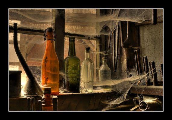 Freilichtmuseum Detmold - Das Spinnenfenster -