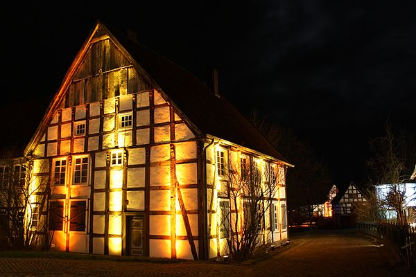 Freilichtmuseum Detmold im Advent