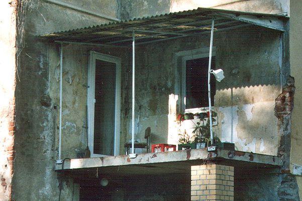 Freiluft-Balkon