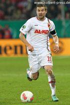 Freisteller Daniel Baier FC Augsburg