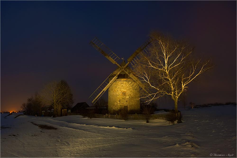 Freitag Abend- die Mühle Endorf ist gefallen