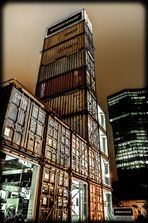 Freitag Tower by night