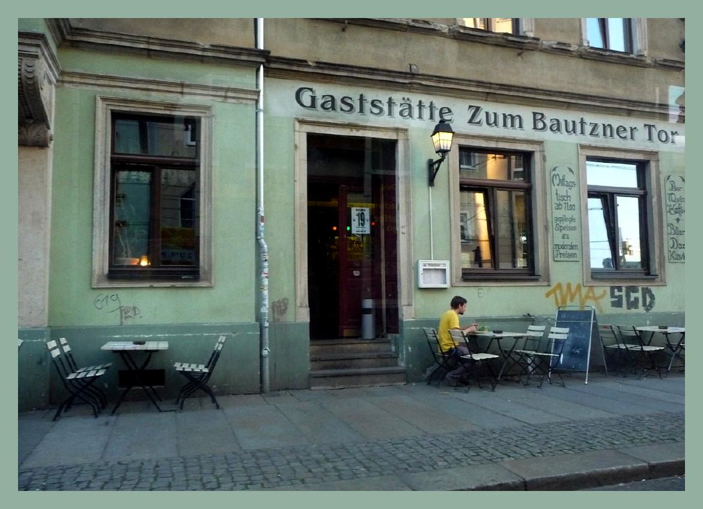 Freitags in der Dresdner Neustadt