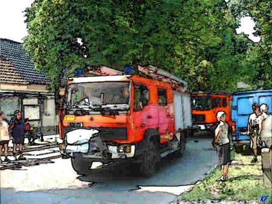 Freiwillige Feuerwehr zum Angerfest
