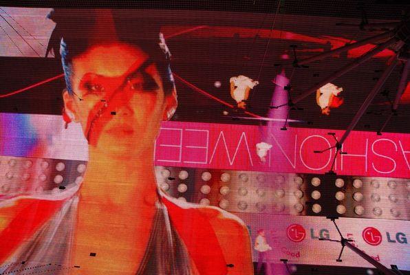 Fremont Ecran géant Las Vegas 3
