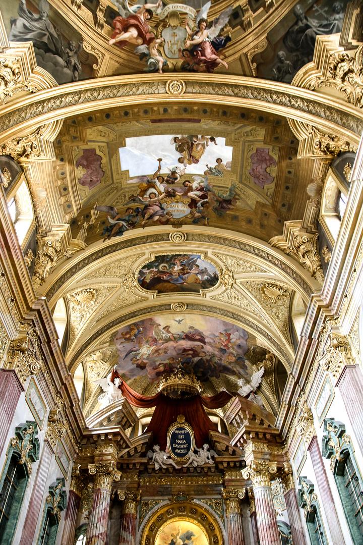 Fresken in der Jesuitenkirche