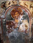 Fresken in der Panagía Makriní aus dem 14.Jh. bei Kallithéa /SAMOS.