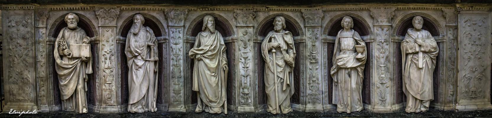 Fresque autour du tombeau