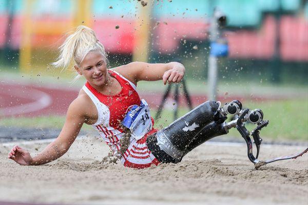 Freude am Sport: Vanessa Low