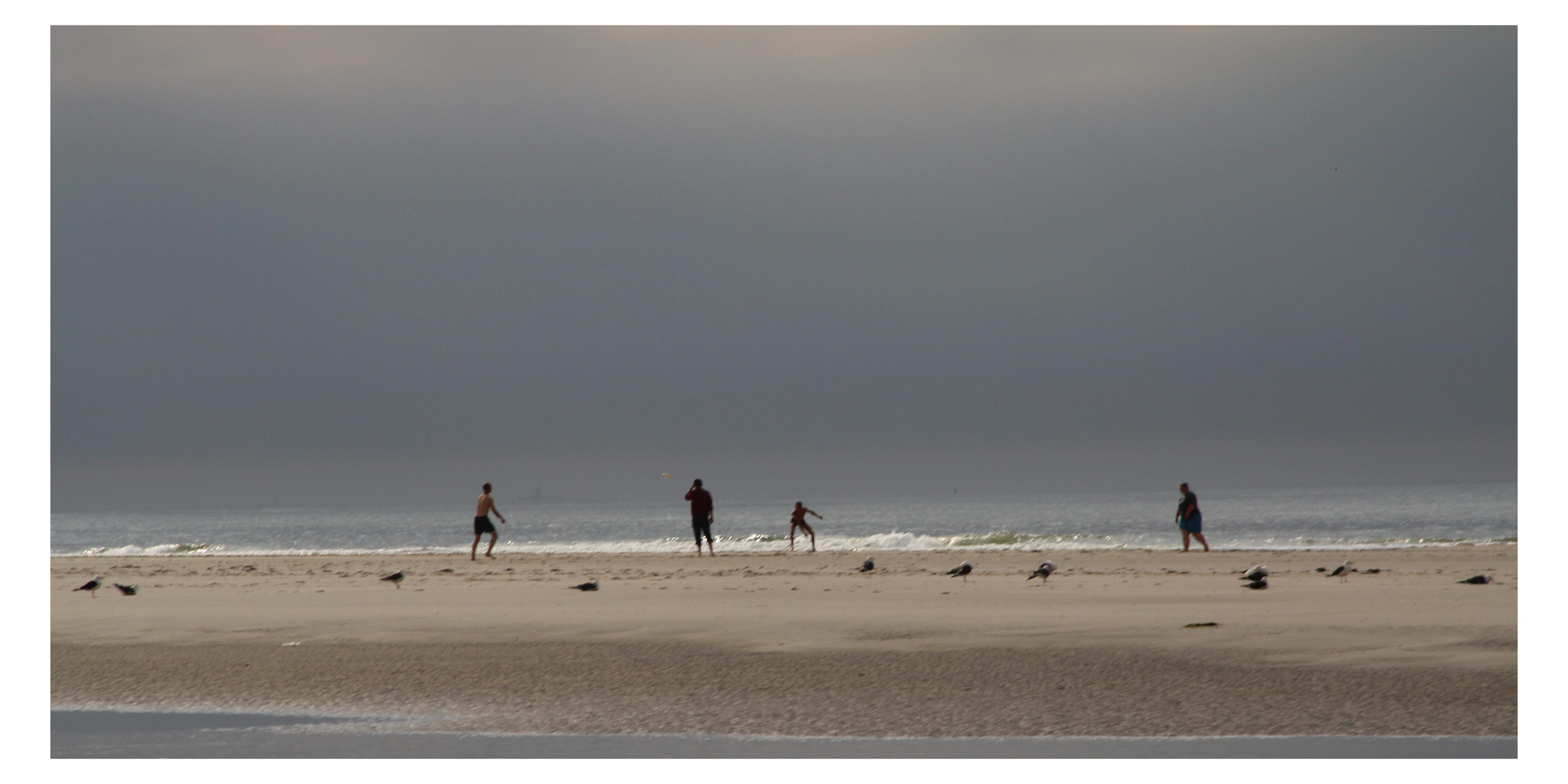 Freude am Strand