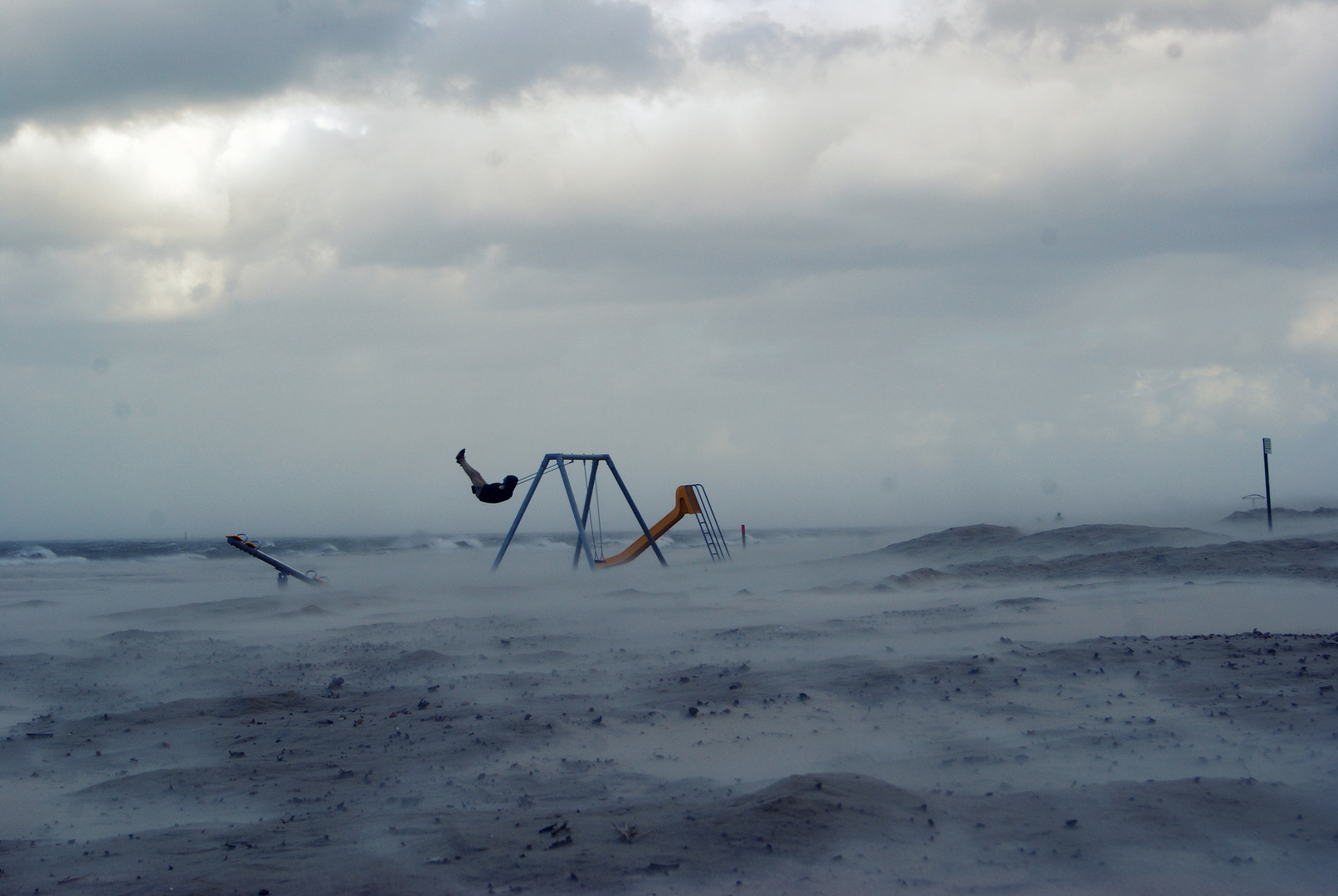Freude am Sturmwetter