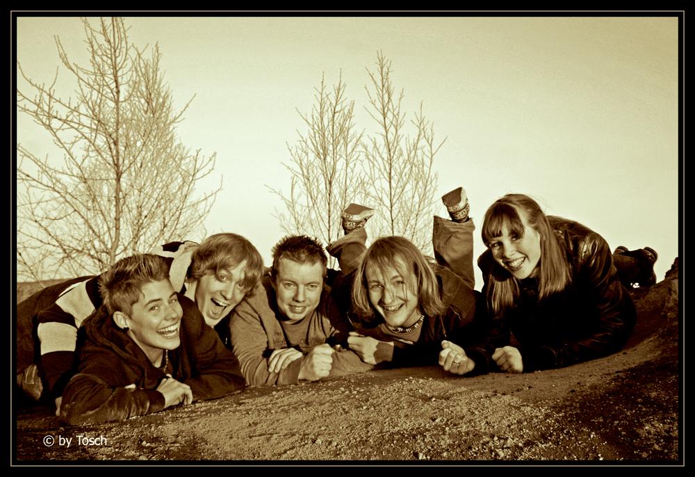 Freude mit Freunden