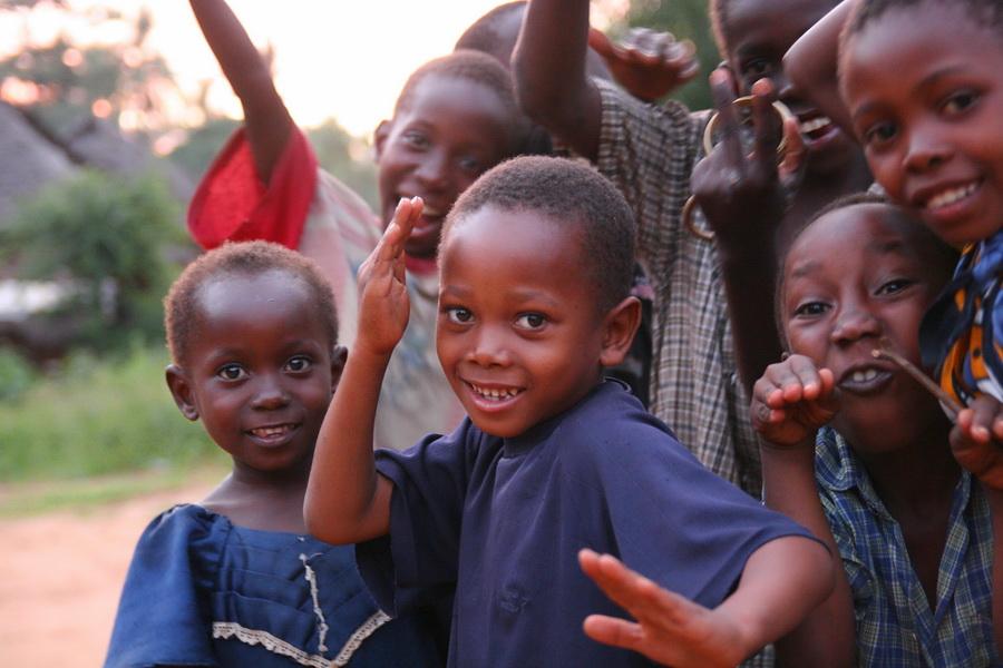 Freude trotz Armut
