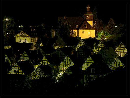 freudenberg bei nacht
