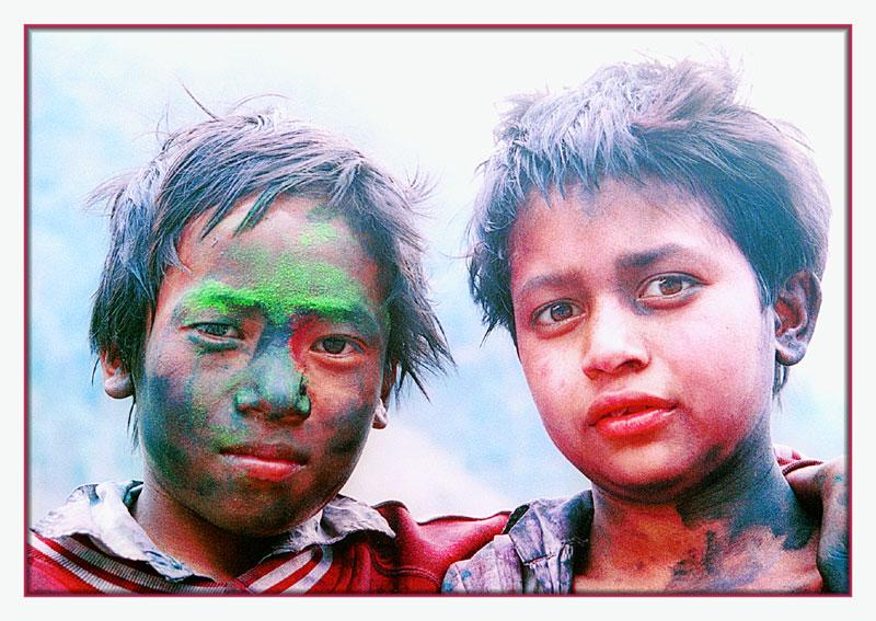 Freunde-Festival of Colors-Nepal