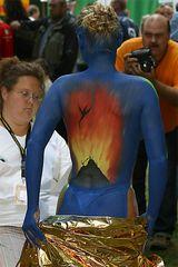 Freunde - German Bodypainting Festival - 2005