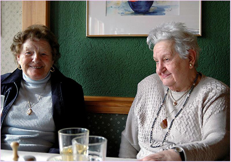 Freundinnen sein 50 Jahren
