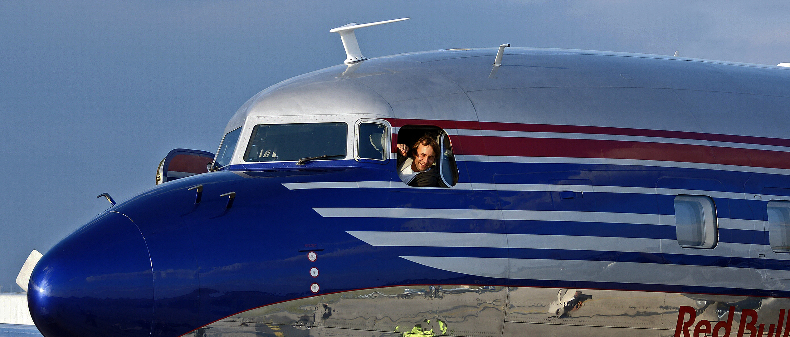 ...... freundlicher Pilot !