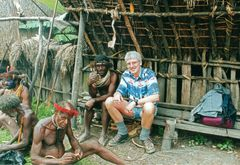 Freundschaft mit den Danis-West Papua