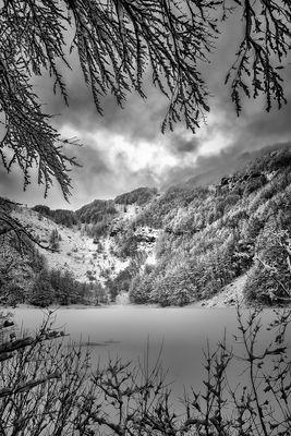 Frezed Lake