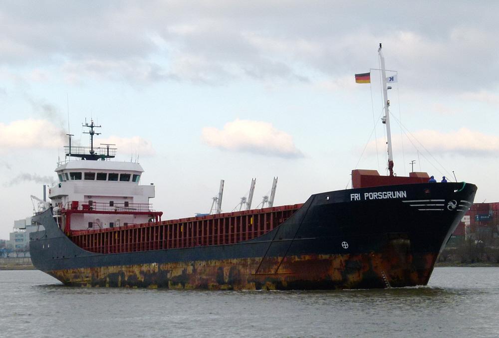 Fri Porsgrunn.  -   General-Cargo