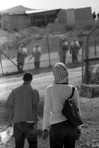 Friday demonstration against the wall in Bil'in 2